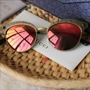 Gucci GG0220S Mirror Sunglasses